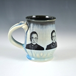 RBG tribute mug #1 - 10 ounce mug - pre-order for shipment in mid-November
