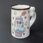 Aging Hippie Club - mug - OUT OF STOCK. SHIPS IN FEBRUARY 2021.