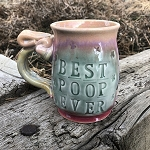 BEST POOP EVER - 12 ounce mug