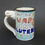 Stop the war on gluten! - mug